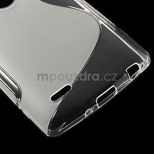 S-line transparentní gelový obal na LG G3 s - 4
