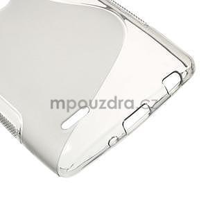 S-line šedý gelový obal na LG G3 s - 4