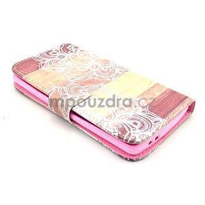 Peněženkové pouzdro na LG G3 s - mandala - 4