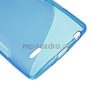 S-line modrý gelový obal na LG G3 s - 4