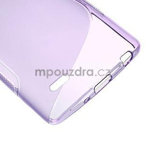 S-line fialový gelový obal na LG G3 s - 4