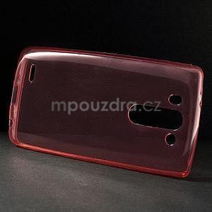 Ultra tenký slimový obal LG G3 s - červený - 4