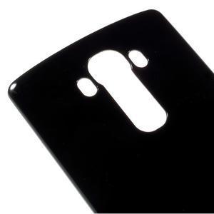Lesklý gelový obal na LG G4 - černý - 4