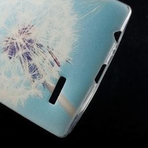Softy gelový obal na mobil LG G4 - pampeliška - 4