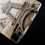 Softy gelový obal na mobil LG G4 - Eiffelova věž - 4/5