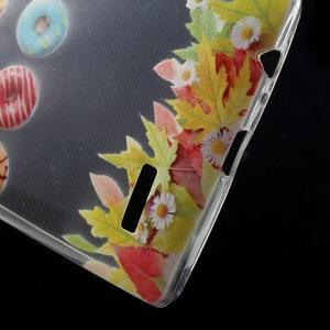 Softy gelový obal na mobil LG G4 - donuts - 4