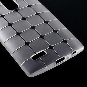 Square gelový obal na LG G4 - bílý - 4