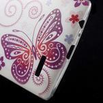 Softy gelový obal na mobil LG G4 - motýlek - 4/5