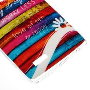 Jells gelový obal na mobil LG G4 - barvy dřeva - 4