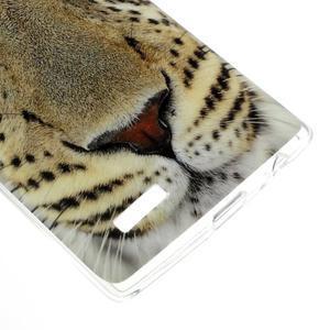 Jells gelový obal na mobil LG G4 - leopard - 4