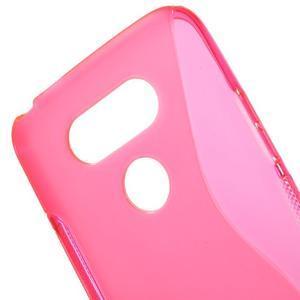 S-line gelový obal na mobil LG G5 - rose - 4