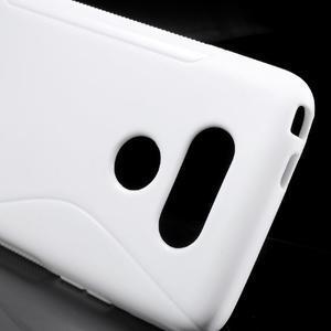 S-line gelový obal na mobil LG G5 - bílý - 4