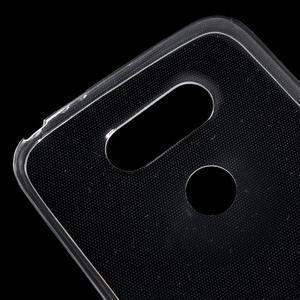 Ultrantenký slim gelový obal na LG G5 - transparentní - 4