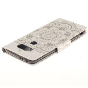 Obrázkové koženkové pouzdro na LG G5 - mandala - 4