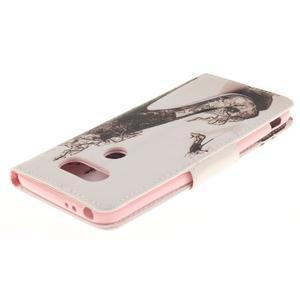 Obrázkové koženkové pouzdro na LG G5 - pekelný střevíc - 4