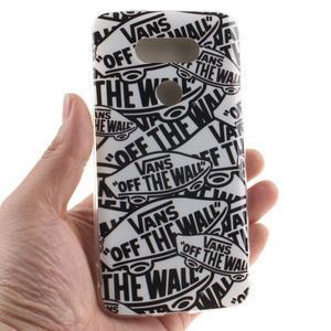 Softy gelový obal na mobil LG G5 - slova - 4