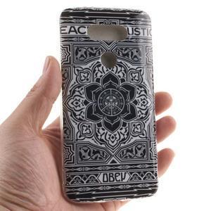 Softy gelový obal na mobil LG G5 - retro květina - 4