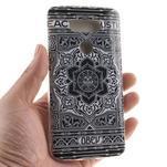 Softy gelový obal na mobil LG G5 - retro květina - 4/6