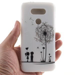 Softy gelový obal na mobil LG G5 - láska - 4