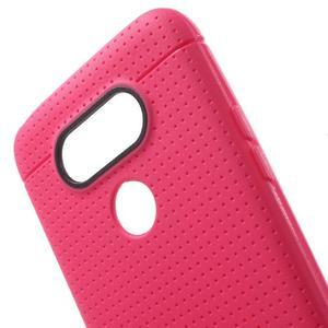 Rubby gelový kryt na LG G5 - rose - 4