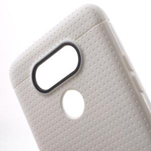 Rubby gelový kryt na LG G5 - bílý - 4