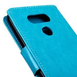 Lees peněženkové pouzdro na LG G5 - modré - 4