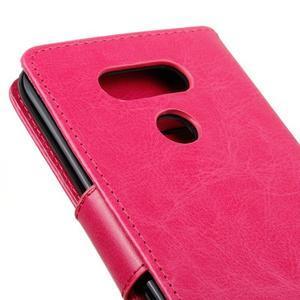 Lees peněženkové pouzdro na LG G5 - rose - 4