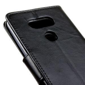 Lees peněženkové pouzdro na LG G5 - černé - 4