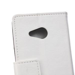 GX koženkové pouzdro na mobil Microsoft Lumia 550 - bílé - 4