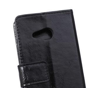 GX koženkové pouzdro na mobil Microsoft Lumia 550 - černé - 4