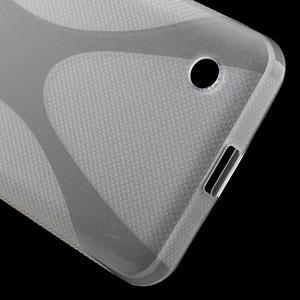 X-line gelový obal na Microsoft Lumia 550 - transparentní - 4