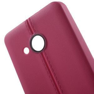 Lines gelový kryt se švy na Microsoft Lumia 550 - rose - 4