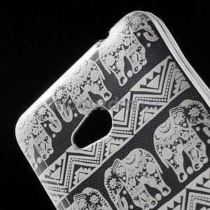 Transparentní gelový obal na Microsoft Lumia 640 - kouzelní sloni - 4