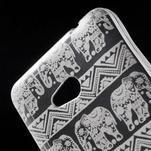 Transparentní gelový obal na Microsoft Lumia 640 - kouzelní sloni - 4/5