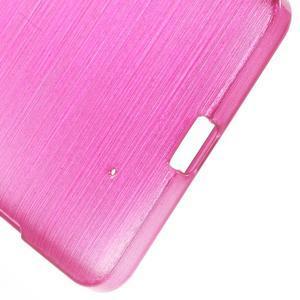 Brush hladký gelový obal na Microsoft Lumia 950 - rose - 4