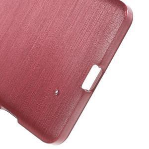 Brush hladký gelový obal na Microsoft Lumia 950 - růžový - 4