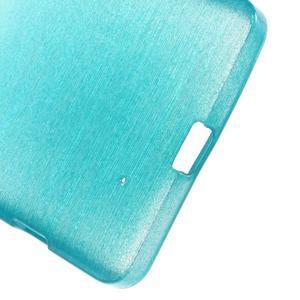 Brush hladký gelový obal na Microsoft Lumia 950 - modrý - 4