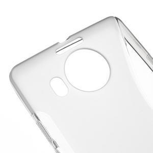 S-line gelový obal na mobil Microsoft Lumia 950 XL - šedý - 4