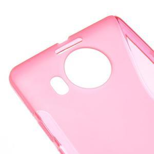 S-line gelový obal na mobil Microsoft Lumia 950 XL -rose - 4
