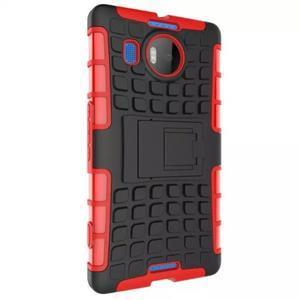 Odolný outdoor obal na mobil Microsoft Lumia 950 XL - červený - 4