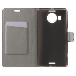 Horse peněženkové pouzdro na Microsoft Lumia 950 XL - bílé - 4
