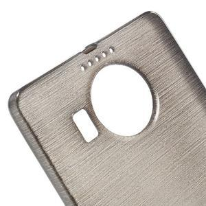Brushed gelový obal na mobil Microsoft Lumia 950 XL - černý - 4