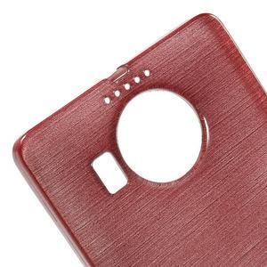 Brushed gelový obal na mobil Microsoft Lumia 950 XL - růžový - 4