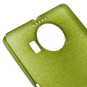 Brushed gelový obal na mobil Microsoft Lumia 950 XL - zelený - 4