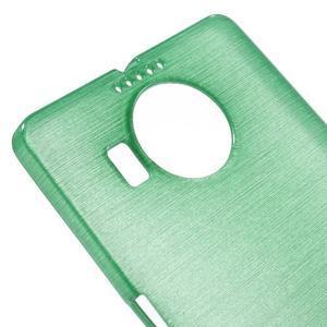 Brushed gelový obal na mobil Microsoft Lumia 950 XL - cyan - 4