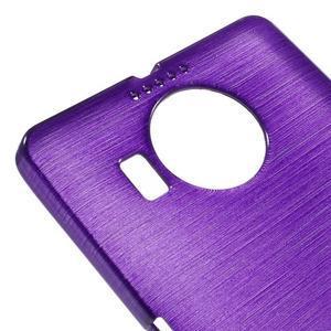 Brushed gelový obal na mobil Microsoft Lumia 950 XL - fialový - 4