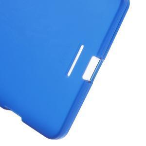 Matný gelový obal na mobil Microsoft Lumia 950 XL - modrý - 4