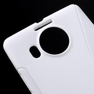 S-line gelový obal na mobil Microsoft Lumia 950 XL - bílý - 4