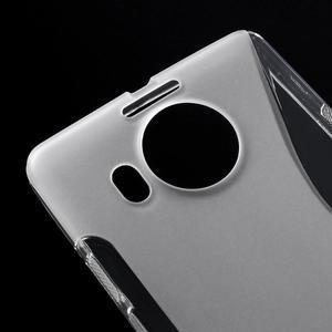 S-line gelový obal na mobil Microsoft Lumia 950 XL - transparentní - 4