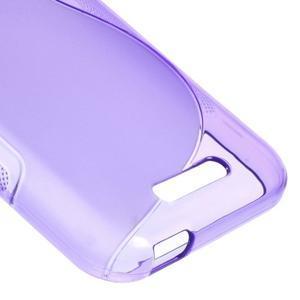 S-line gelový obal na mobil HTC Desire 510 - fialový - 4